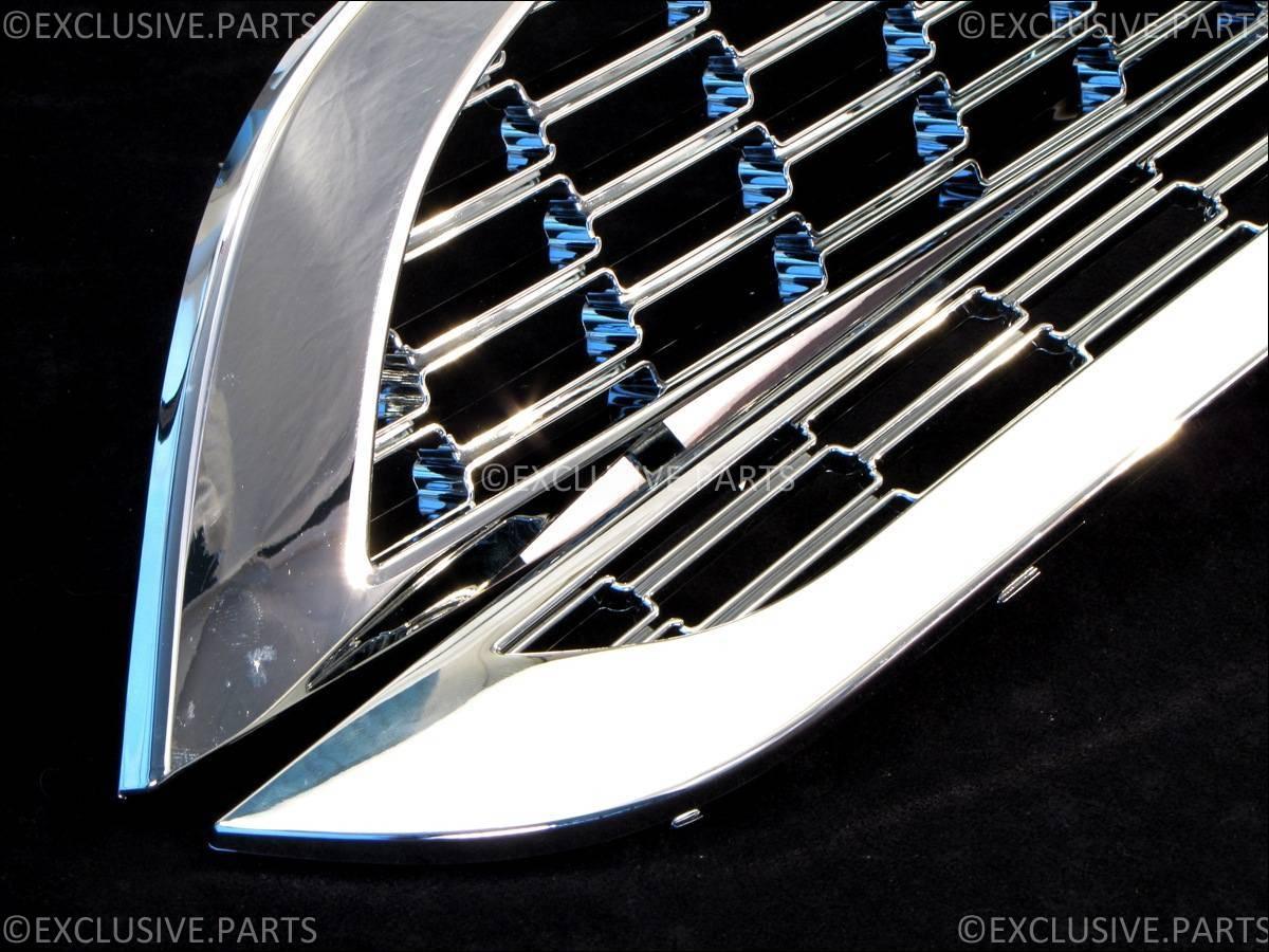 Mini one cooper s d r50 r52 r53 grille de calandre chrome for Chrome line exterieur