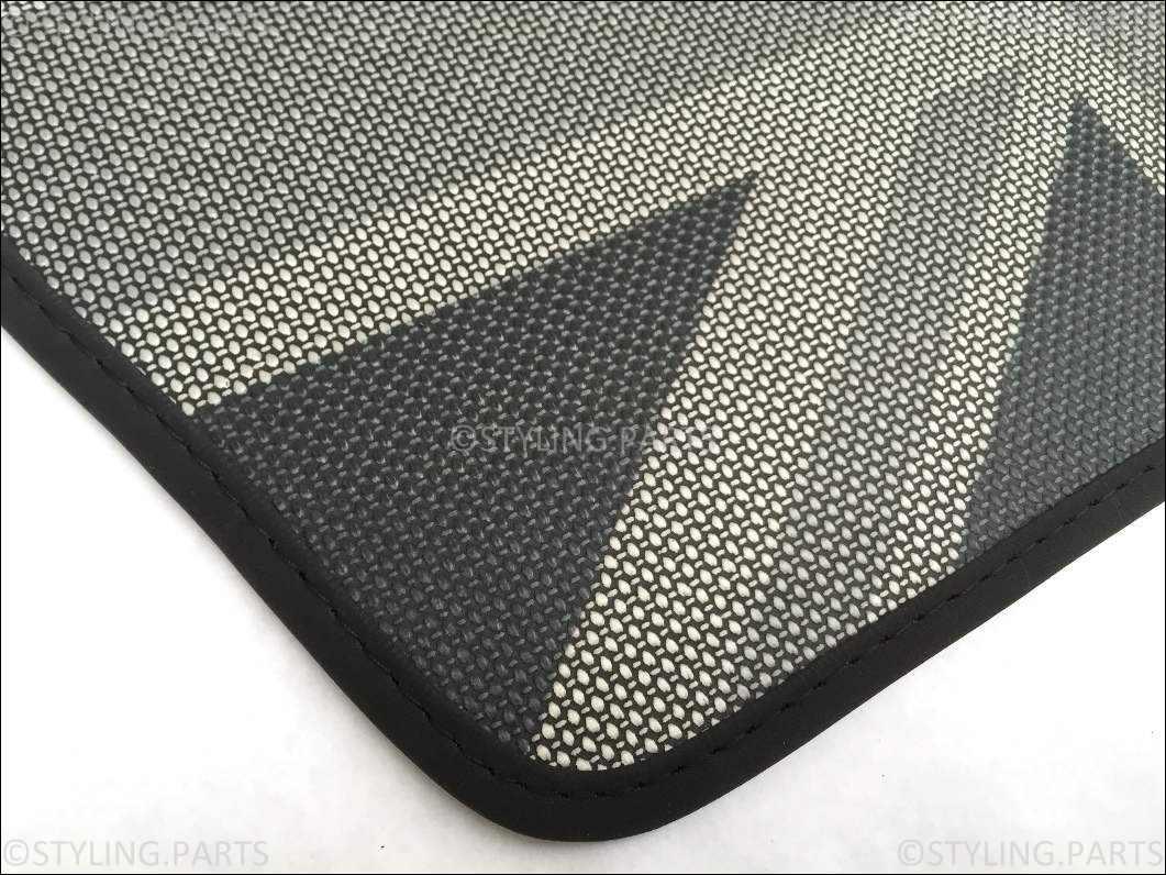 mini one cooper s f56 fussmatten gummimatten union jack. Black Bedroom Furniture Sets. Home Design Ideas