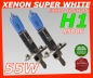 H1 8500K 55W Xenon Look Halogen Birnen SUPER White
