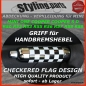 Preview: Passend für MINI Handbremshebel CHECKERED FLAG R50 R52 R53 R55 R56 R57 R58 R59