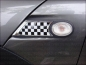 Preview: Passend für MINI Seitenverkleidung Blinker Chequered Flag R55 R56 R57 R58 R59