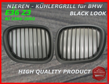 Fit on BMW Grille Black Z3 96-02