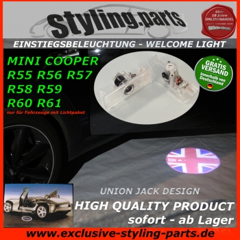 MINI Welcome Light R56 R57 R58 R59