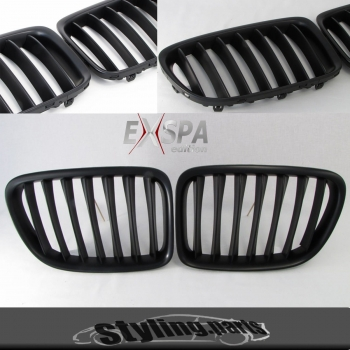 Fit for BMW Grill glossy black X5 E70 2006-