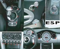 passend für MINI Interieur Set Chrom 26tlg R50 R52 R53