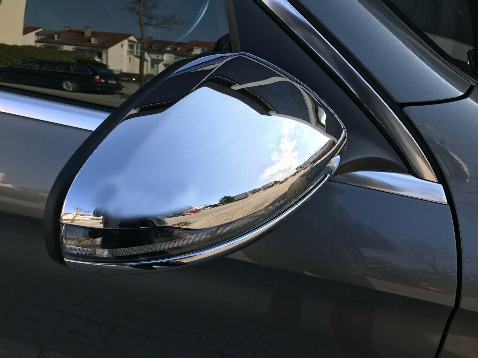 Spiegelkappen Verkleidung  in Chrom für MERCEDES W213 S213  Limousine T-Modell