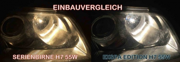 H11 8500K 55W Xenon Look Halogen Birnen SUPER White