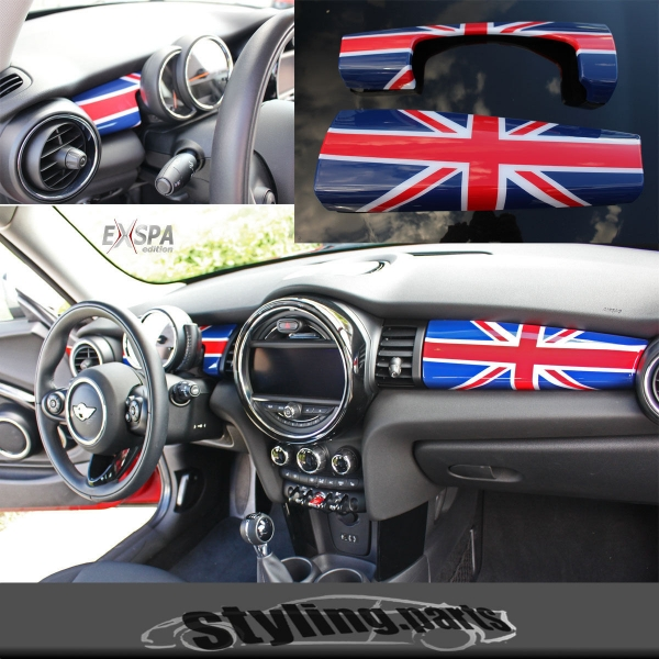 MINI F55 F56 DASHBOARD COVER UNION JACK