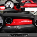 MINI ONE COOPER COCKPIT INNENVERKLEIDUNG - RED - R55 R56 R57 R58 R59