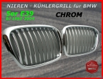 BMW Grille Chrome 5er E39 95-04