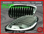 BMW Nieren Kühlergrill Chrom 3er E46 Coupe 03-04