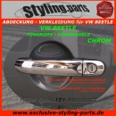 VW Beetle Doorhandle Cover Chrome (1 or 2 Keyholes)