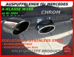 MB Tail-Pipe Stainless Steel W169 A-Klasse