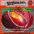PT Cruiser Tail Lamp Frames Chrome 2001-2012