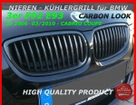 Fit on BMW Grill Carbon 3er E92 E93 bis 03/2010