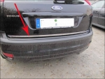Ford Focus 05-08 Heckleiste Chrom