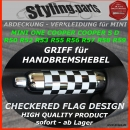 MINI Handbremshebel CHECKERED FLAG R50 R52 R53 R55 R56 R57 R58 R59