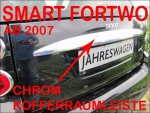 Smart Kofferraumleiste Chrom Smart FORTWO ab 07