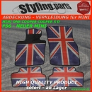 MINI Fuss Gummimatten Union Jack Design F56