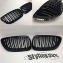 Fit on BMW Grille glossy Black 3er E92/E93 Doublespoke