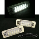 MERCEDES Licence Plate Light LED White E-Mark W210 W202