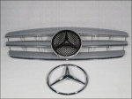 MB Kühlergrill Chrome Silver W203 C-Class incl. signature Star