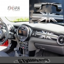 MINI F55 F56 DASHBOARD COVER UNION JACK BLACK