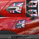 MINI F55 F56 SIDE SCUTTLES SEITENBLINKER UNION JACK