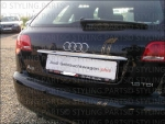 Fit on AUDI Rear Lid Cover Stainless Steel Chrom A3 A4 A6