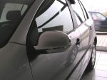 VW Golf 5 / Golf Plus / EOS / Sharan Spiegelkappen Chrom