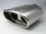 Fit on BMW Tail pipe Trim 3er E46 E90/91 & ALFA 166