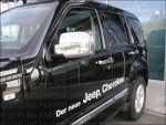 JEEP Cherokee/Patriot Spiegelkappen Chrom