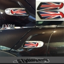MINI F55 F56 SIDE SCUTTLES Union Jack