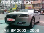 AUDI Tagfahrlicht Set A3 03-08 (8P/8PA) LED in Smoke