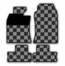 MINI Gummi-Fussmatte Chequered Flag R50-R53