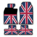 MINI Fuss Gummimatten Union Jack Design R55 R56 R57