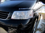 Fit on VW T5 MULTIVAN HEAD LAMP RIM CHROM