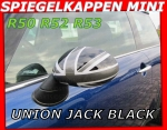 MINI Spiegelkappen Union Jack Black R50 R52 R53