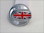 MINI Cooper S Tankdeckel Union Jack / Chrom R55 R56