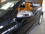 MERCEDES SL R230 W230  SIDE MIRROW COVERS IN CHROME