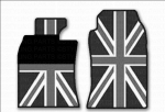 MINI Coupe Roadster Gummimatten Union Jack Black R58 R59