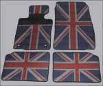 MINI Fuss Gummimatten Union Jack R60 Countryman