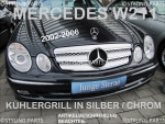 Mercedes Grille Chrom/Silver W211 E-Class incl. original Signature Star